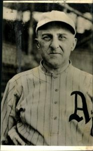 Hyman Pearlstone in Philadelphia Athletics Uniform in the 1920's